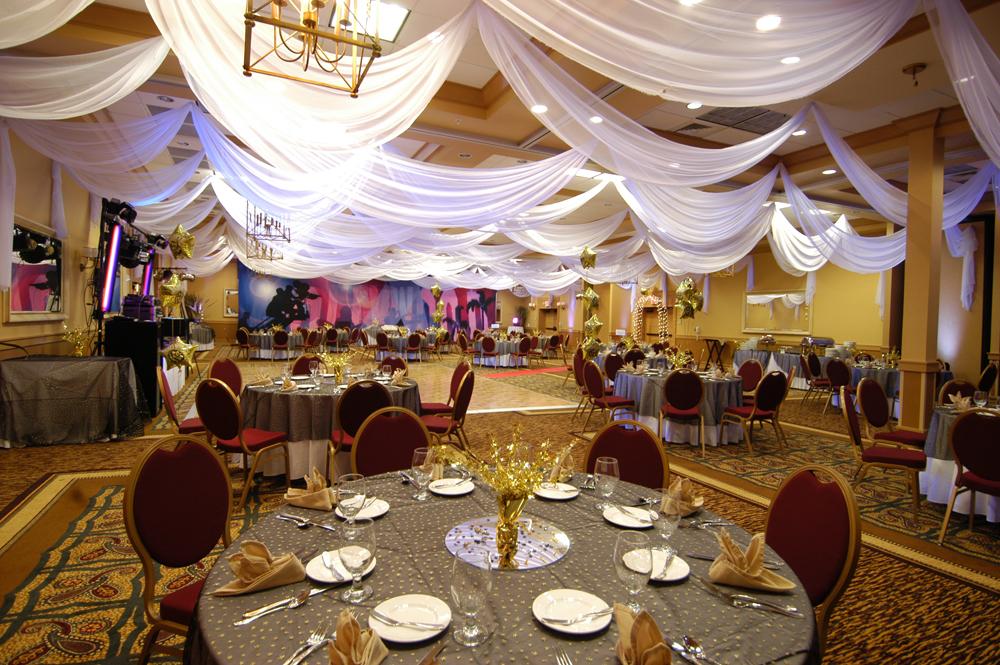W Drapings: Custom Event Draping, Chiffon Ceiling Treatments and Wedding Decor